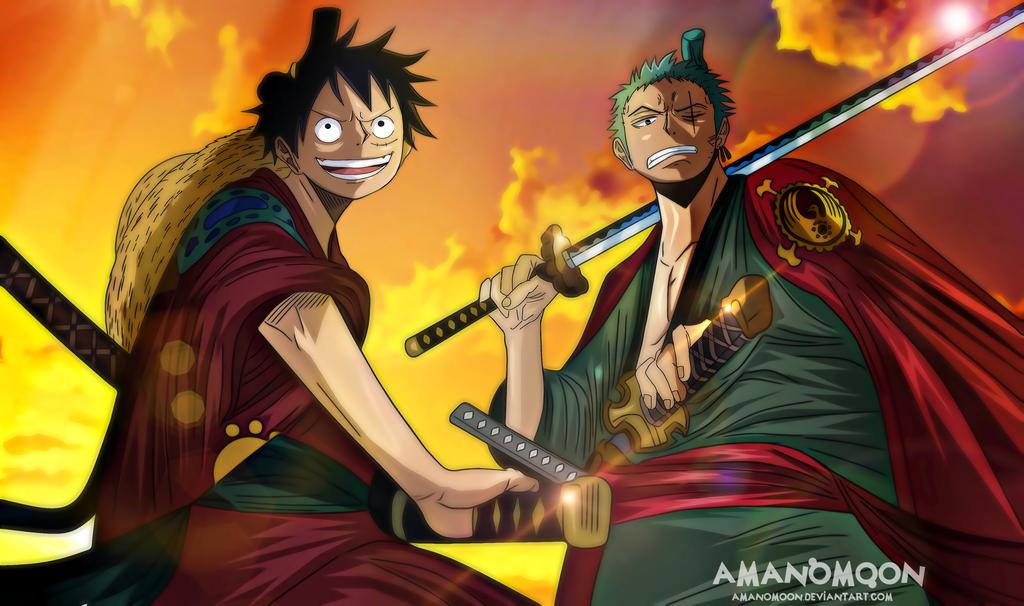 Wallpaper Hd One Piece Zoro Wano - Wallpaper Images ...