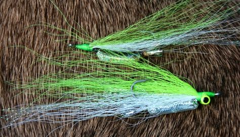 Fly tying Big Fly Fiber Rouge