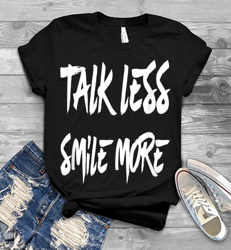 Talk Less Smile More Historic Hamilton Quote Mens T-shirt
