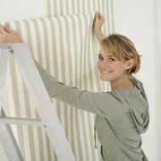 How To Put Wallpaper Over Ceramic Tile Hunker Paintable Wallpaper Homemade Wallpaper How To Hang Wallpaper