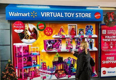 Qr toy store. Walmart