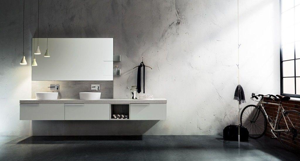 Cementina bagno ~ Bagno play cerasa piano effetto cemento arredo bagno
