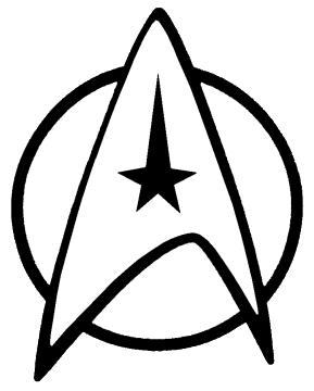 Starfleet Insignia Star Trek Tattoo Star Trek Logo Star Trek Symbol