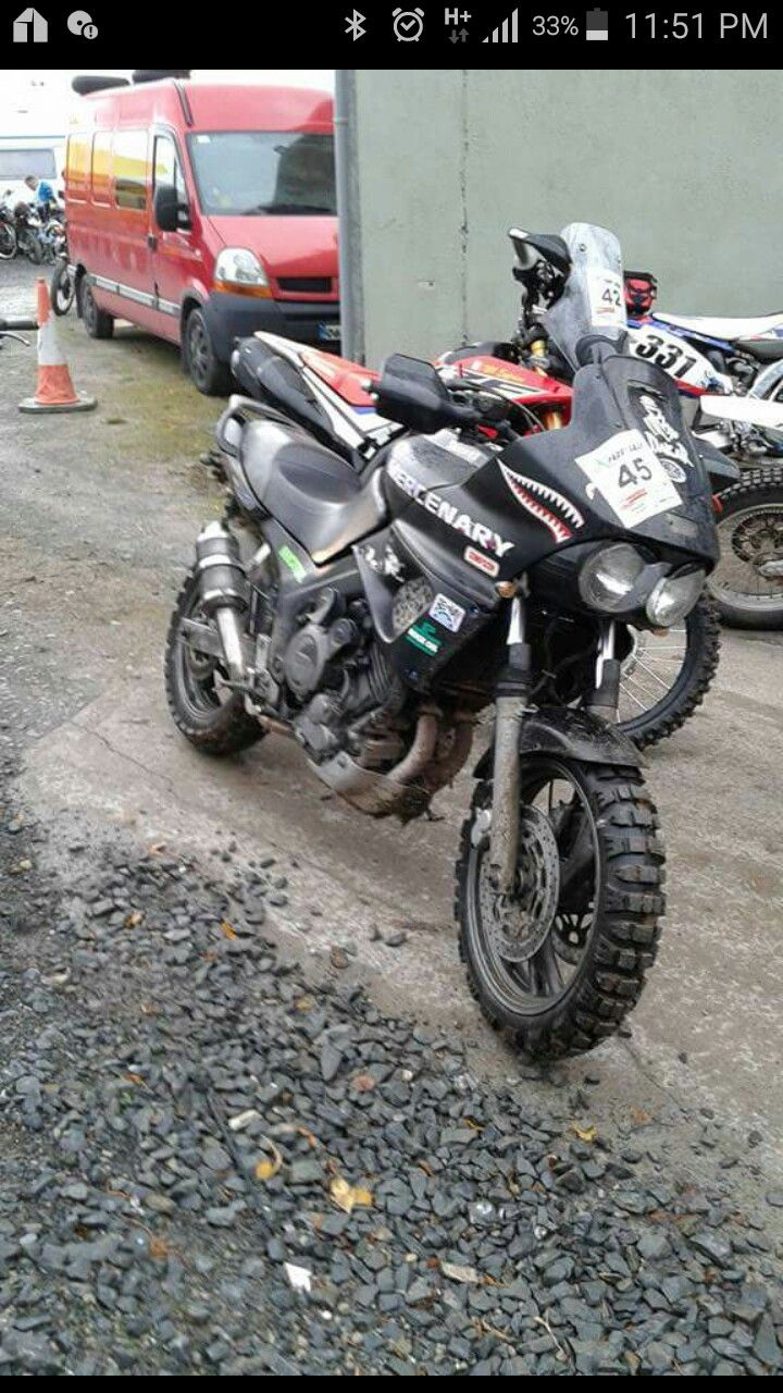 Paddy Dakar Mercenary Tdm 850
