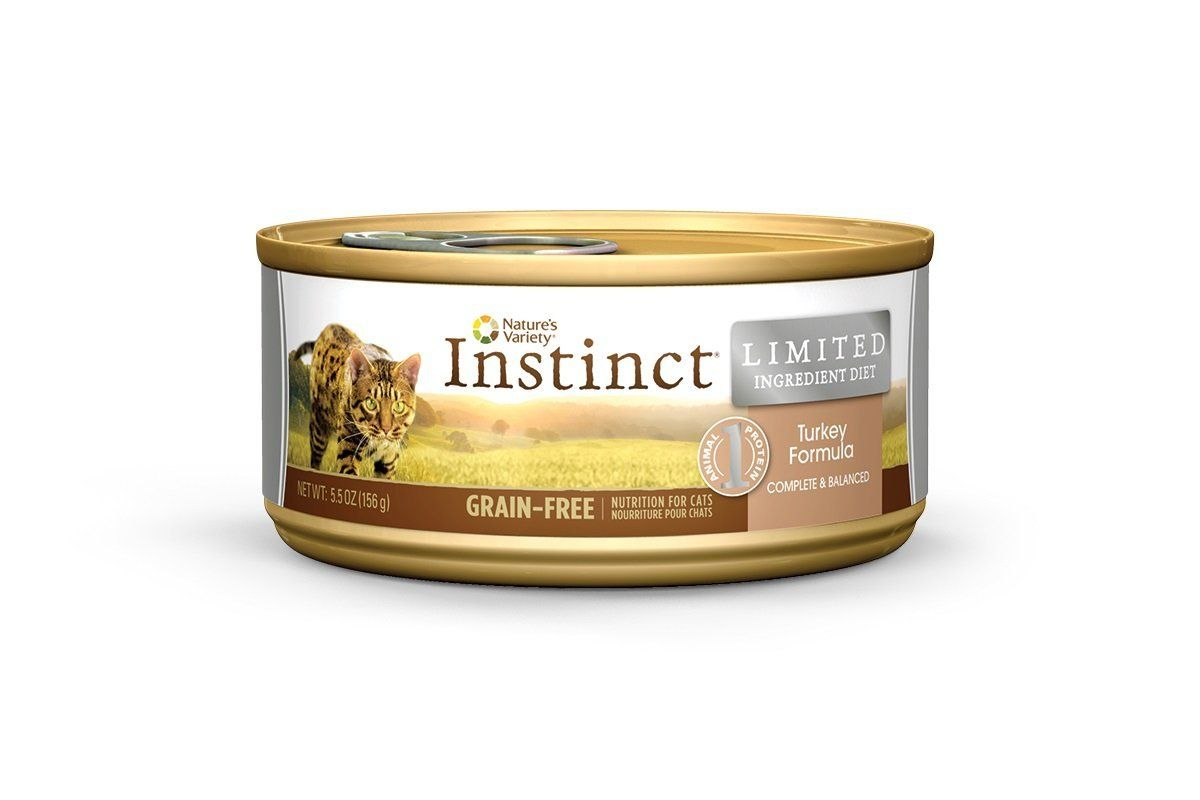 Nature S Variety Instinct Limited Ingredient Diet Grain Free Canned Cat Food Special Cat Product Just For You See It Dog Food Recipes Canned Cat Food Food