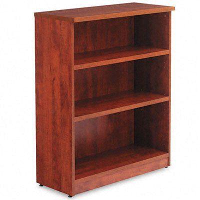 "Red Barrel Studio Belle 40"" Standard Bookcase Finish: Medium Cherry"