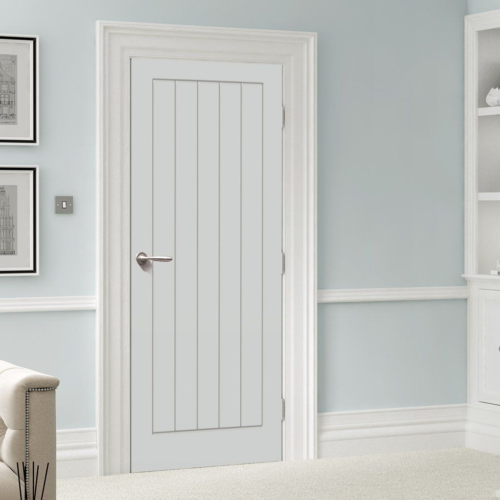 White Fire Door Textured Vertical 5 Panel Door 1 2 Hour Rated White Primed Panel Doors 5 Panel Doors Fire Doors