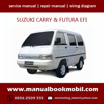 CD) Service Manual Suzuki Carry EFI & Futura | Pinterest | Repair ...