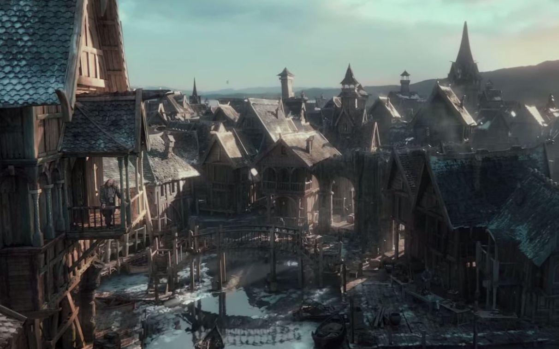 Lake Town Lake Town Hobbit i
