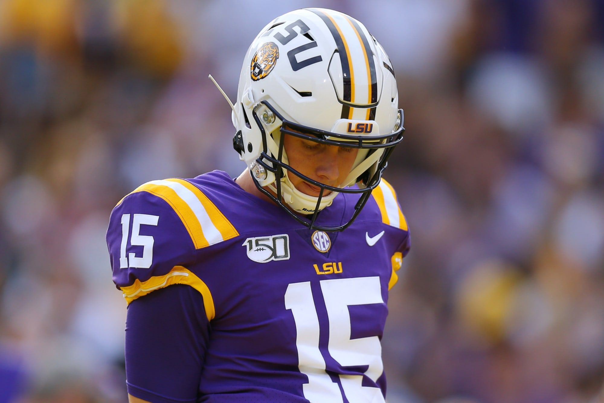 Lsu Football S Myles Brennan Will Carry The Torch From Joe Burrow For The Tigers In 2020 Lsu Football Quarterback Myles Brennan Has In 2020 Lsu Football Lsu Football