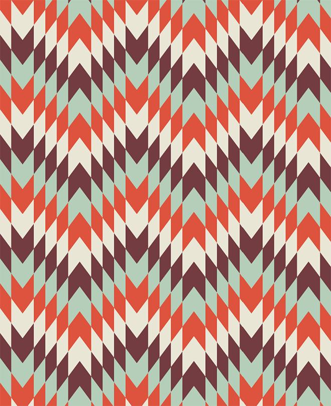 Geometric Pattern in Adobe Illustrator