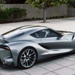 2018 Toyota Supra Side Model Redesign and New Wheels