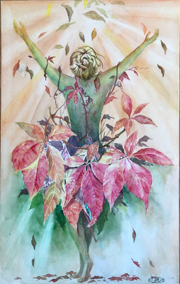 #watercolor #watercolorarts #fall #autumn #autumncolors