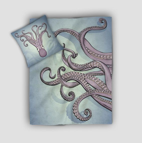 Purple Octopus Tentacle Blanket is available personalized simply leave us your instructions at checkout and & Purple Octopus Tentacle Blanket is available personalized simply ...
