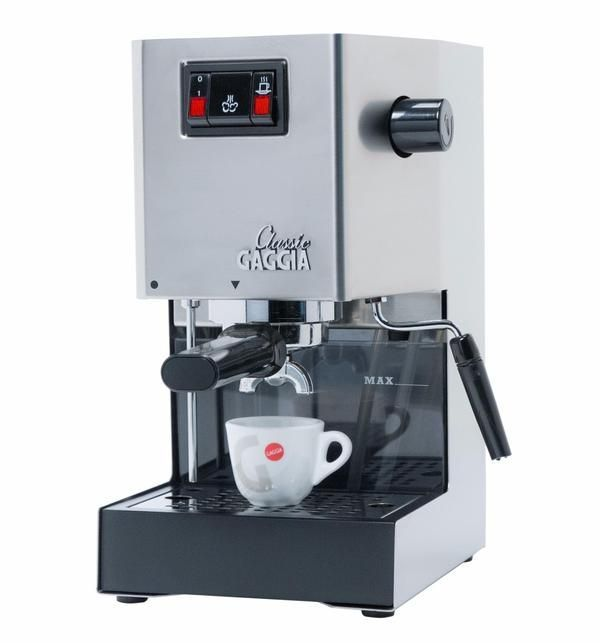 Gaggia Classic Brushed Stainless Steel Semi-Automatic Espresso Machine - #automatic #brushed #classic #espresso #gaggia #Stainless #steel - #Espresso