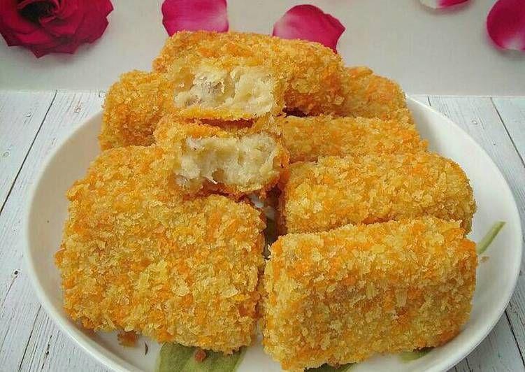 Resep Nugget Pisang Keju Oleh Susan Mellyani Resep Makanan Vegetarian Resep Makanan