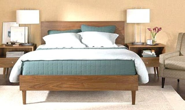 Best 28 Simple And Elegant Mid Century Modern Beds Digsdigs 400 x 300