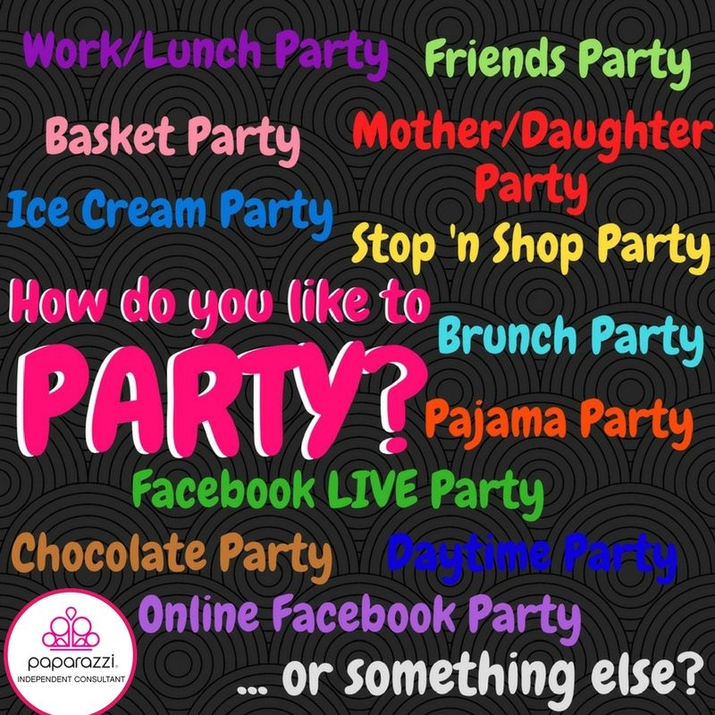 How Do You Like To Party So Many Fun Ways With Paparazzi 5 Accessories Click The Pic To Shop W Paparazzi Party Ideas Paparazzi Party Paparazzi Accessories