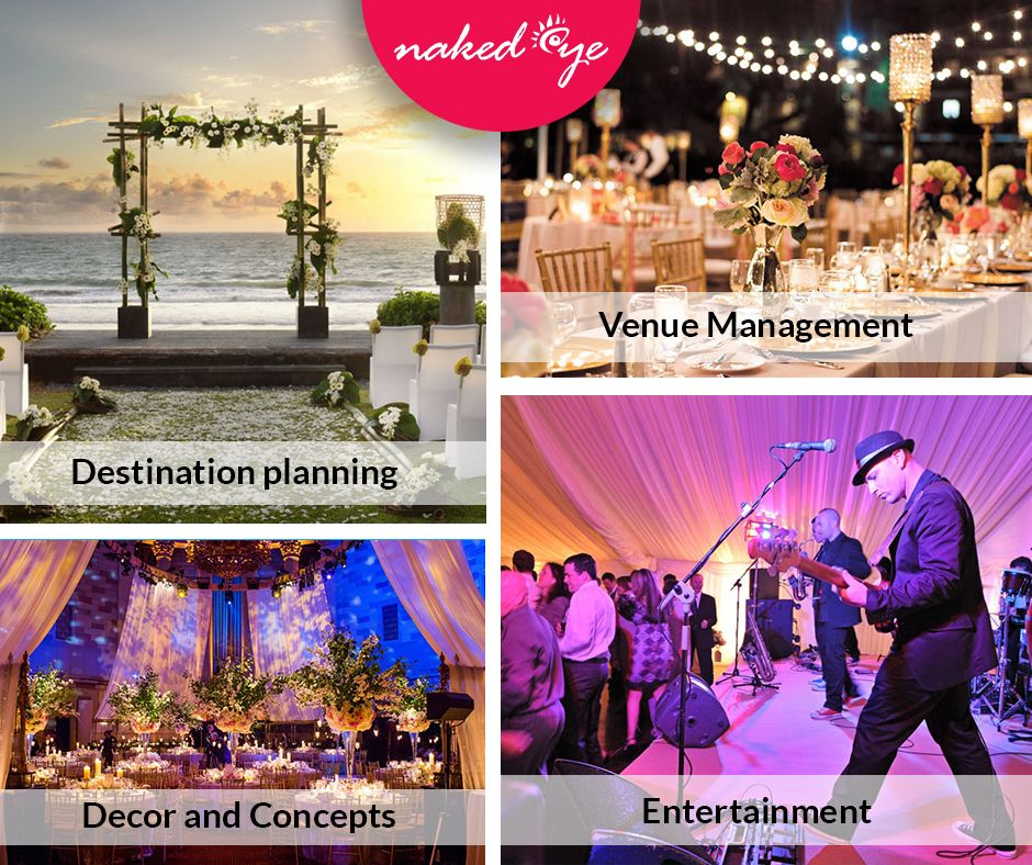Contact Eye For Creative And Elegant Wedding Décor Planning Management Weddingplanner