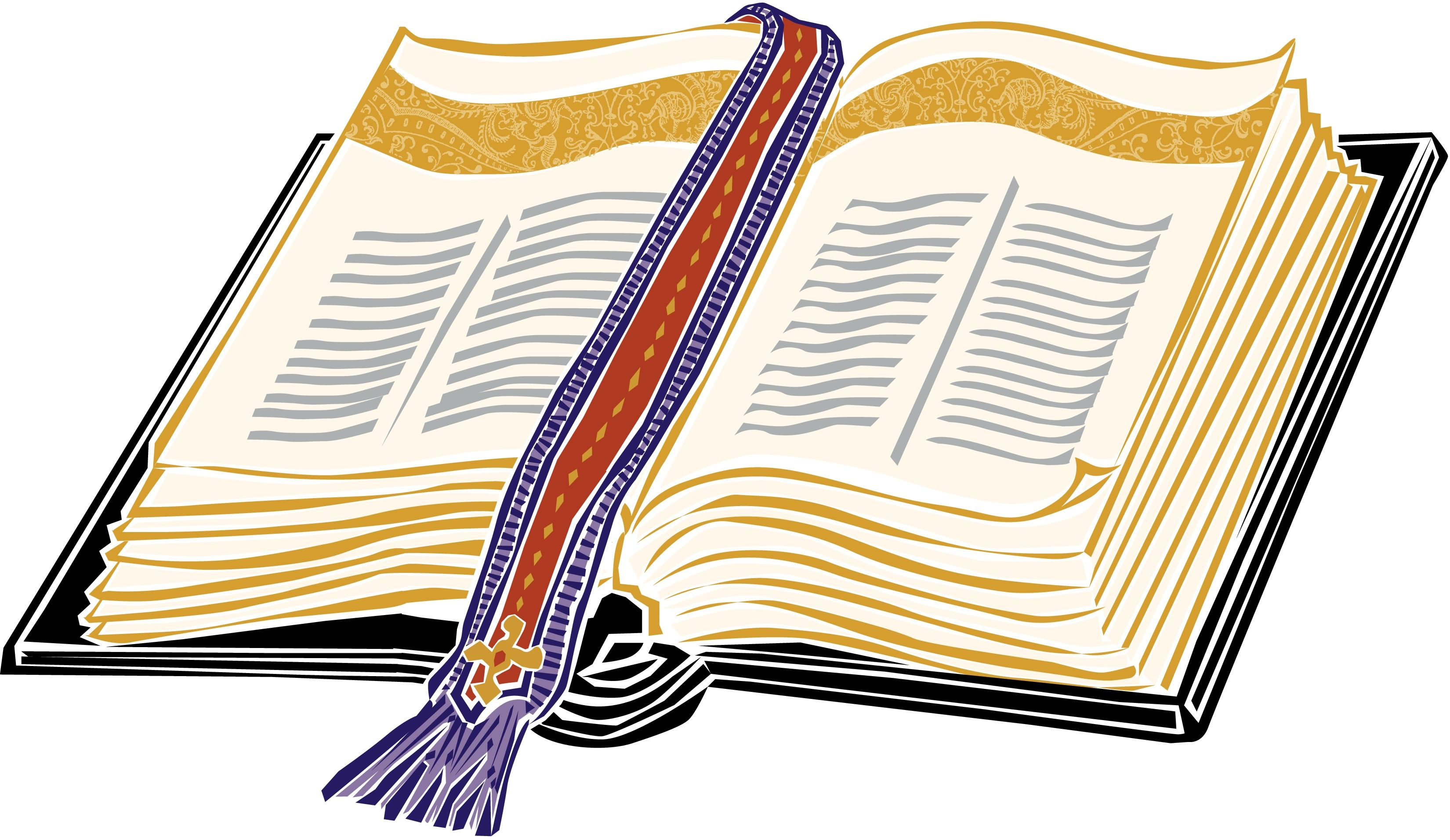 hight resolution of gold open christian bible clipart clipart kid