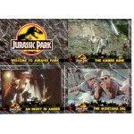 1992 Dynamic Jurassic Park Base Set (110 cards)