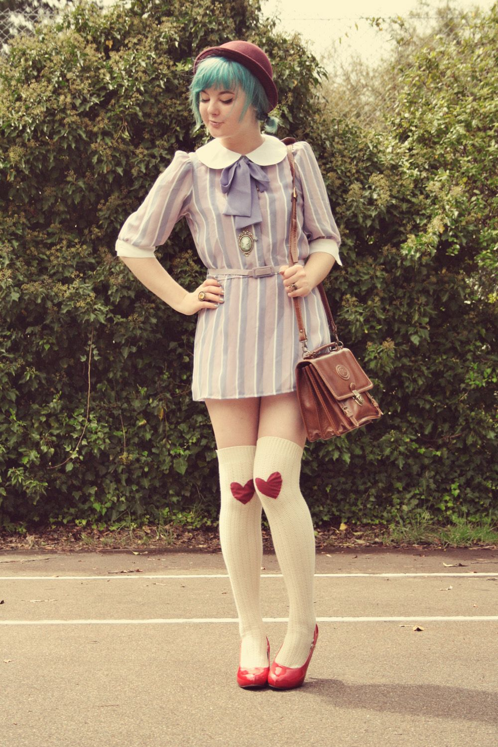 Very Cute! Love the dress and socks!The Pineneedle Collective: DIY ...