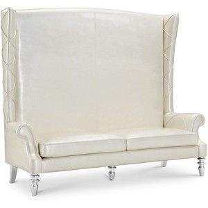 design loveseat loveseats teal high leona traditional home tufted fabric dark product transitional winged back