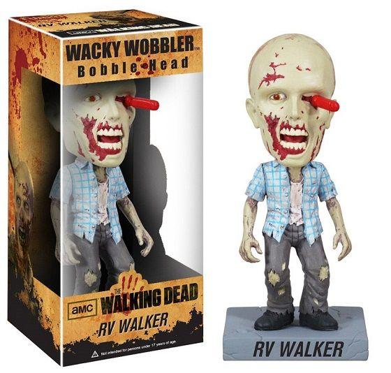 The Walking Dead Wacky Wobbler Bobble-Head RV Walker Zombie 18 cm  Para mais informações clica no seguinte link: http://buff.ly/1offSwx  #ToyArt #Funko #TheWalkingDead #TWD