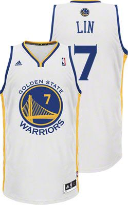 Jeremy Lin Jersey  adidas Revolution 30 White Swingman  7 Golden State  Warriors NBA Jersey 8153644a9