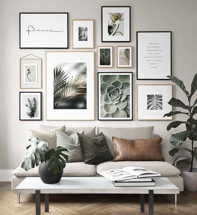Home Remodel Fireplace Gallery Wall Inspiration #art #homedecor.Home Remodel Fireplace  Gallery Wall Inspiration #art #homedecor