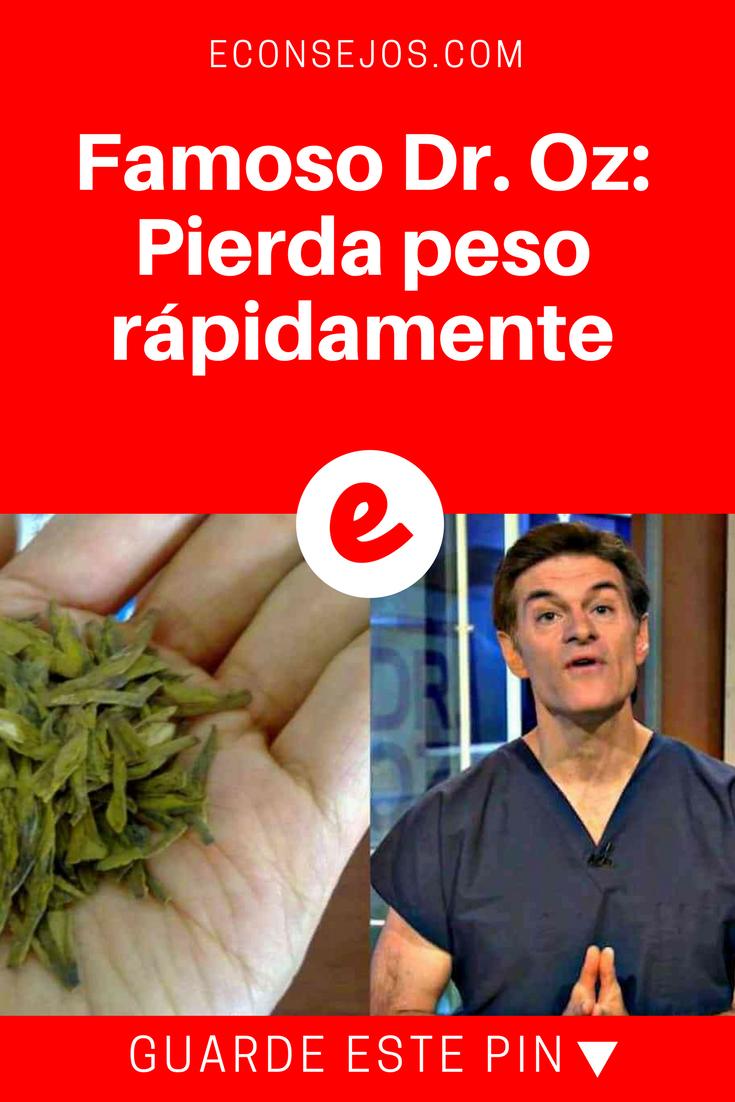 dr. oz en español dieta para bajar de peso