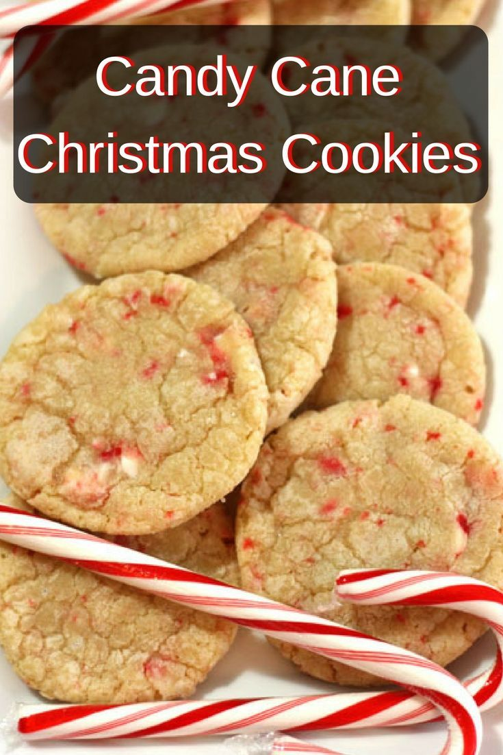 this candy cane christmas cookie recipe is easy and fun to make