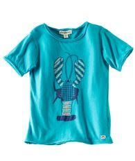 Fun tops and t's for summer play from Hallmark Baby - Lobster Graphic T Turquoise