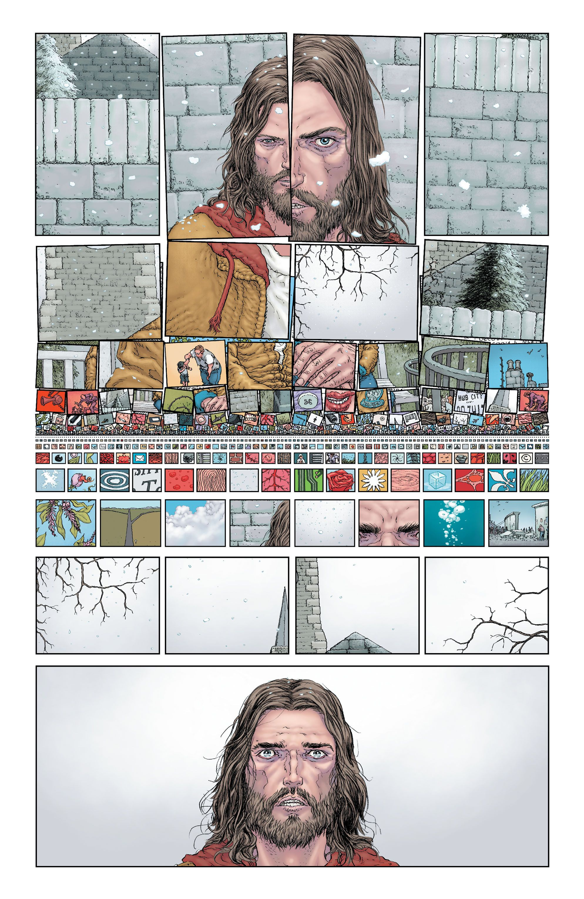 Frank Quitely - The Multiversity: Pax Americana