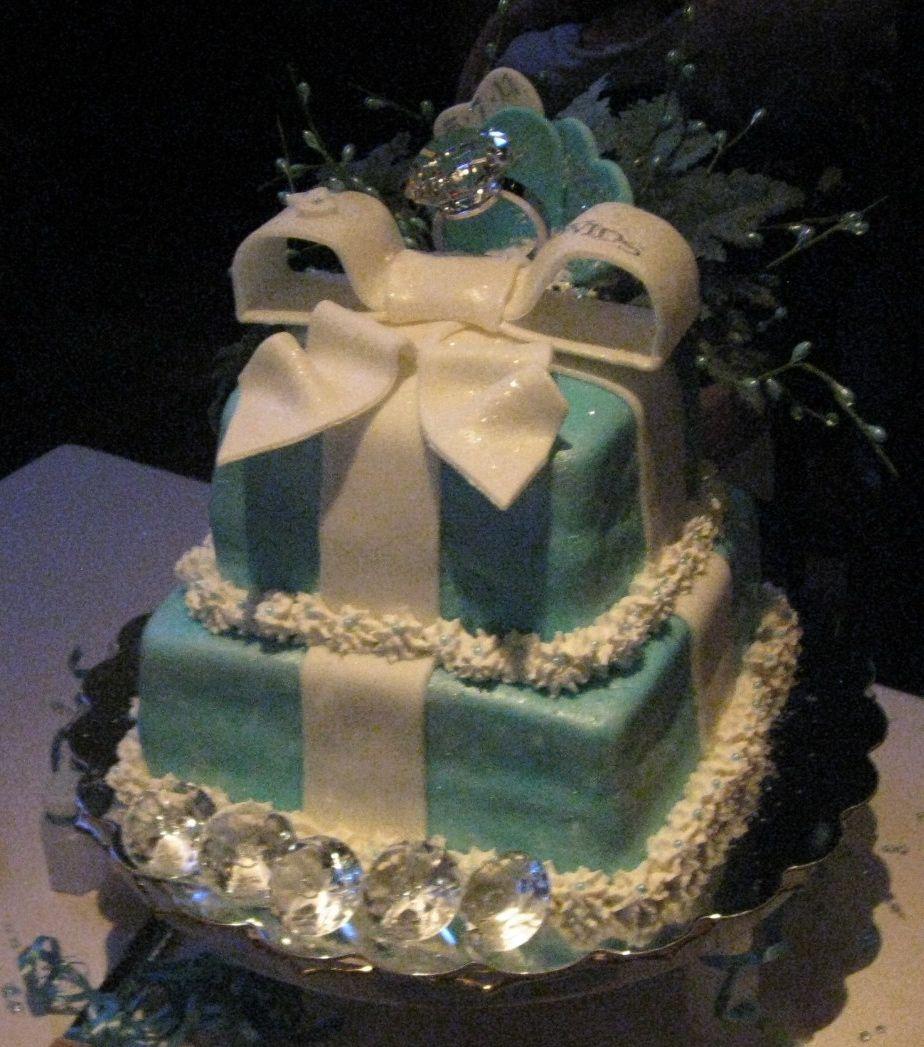 tiffany wedding cake the perfect wedding pinterest. Black Bedroom Furniture Sets. Home Design Ideas