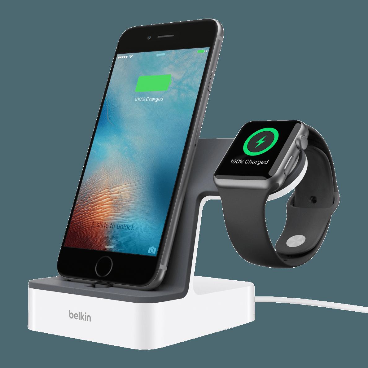 Belkin Powerhouse Induktive Ladestation 1 2 M Weiss 00745883772438 Laden Sie Ihre Apple Watch Und Ihr Apple Watch Ladestation Ladestation Apple Watch Iphone