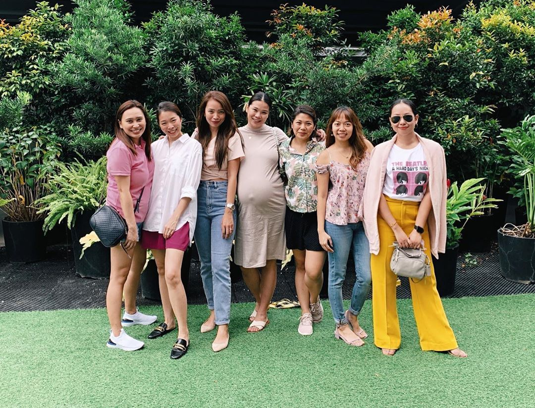 Waiting for Baby Anika to join our girl group 🥰 #BGs #baby #friends #babyshower ...