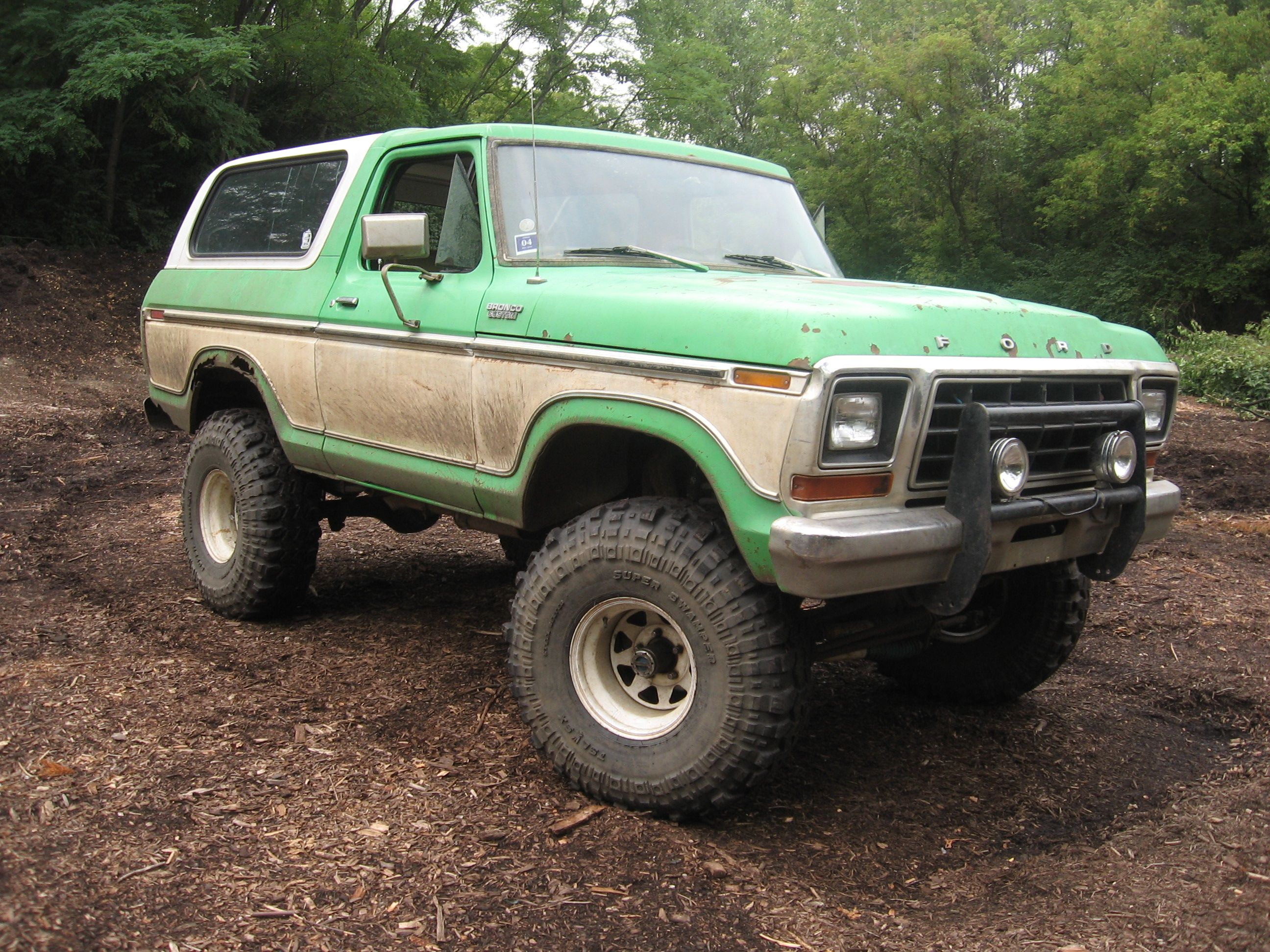 A Major Redesign In 1978 Moved The Bronco To A Larger Size