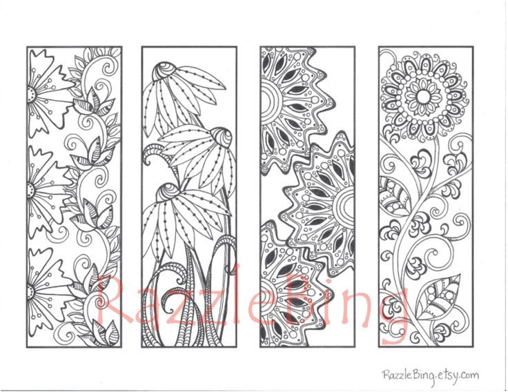 bookmark coloring pages google search