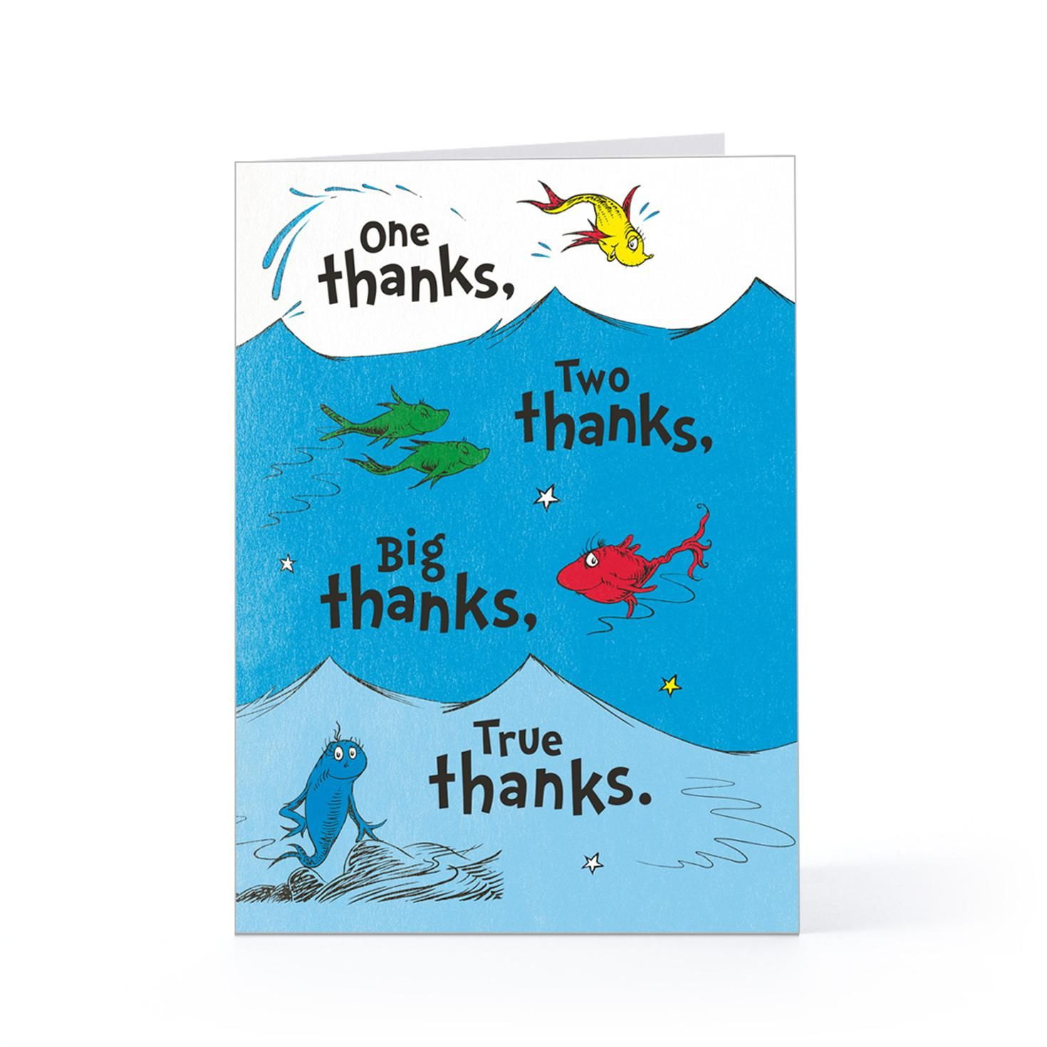 One thanks two thanks thank you greeting card 1pgc597814701g one thanks two thanks thank you cards hallmark kristyandbryce Choice Image