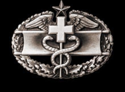Combat Medical Badge Second Award 1951 1950 Usmy Todays