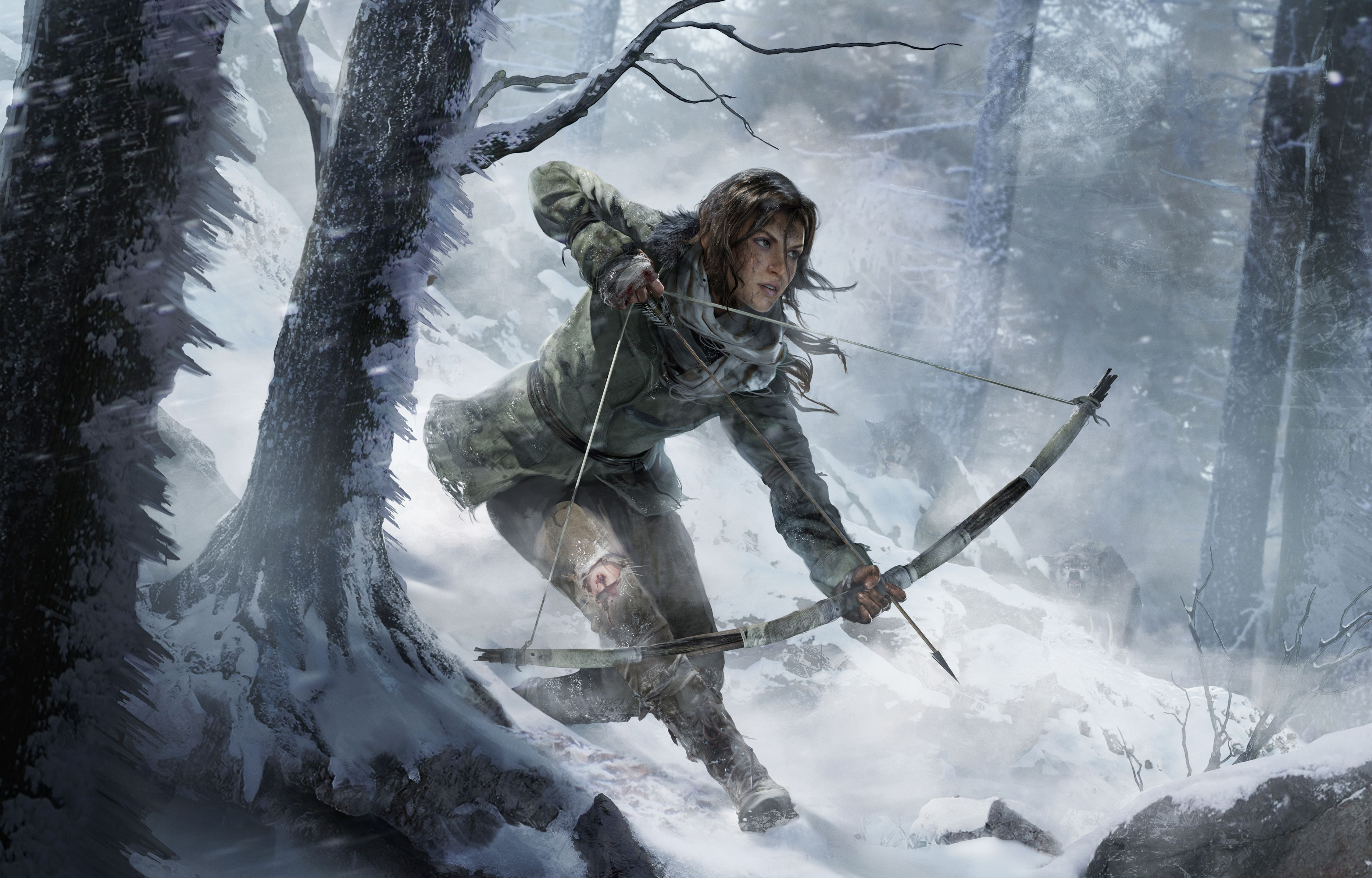 Key Art For Rise Of Tomb Raider By Sze Jones Editorial