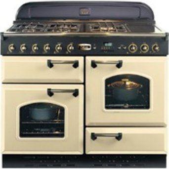 Cuisinière Falcon Classic Crème Cuisine Pinterest Cuisines - Cuisiniere 3 feux gaz pour idees de deco de cuisine