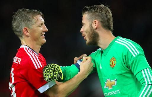 """Manchester United's David De Gea """"proud"""" after wearing captain's armband for first time"""