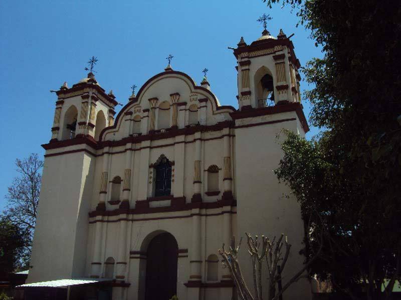 Iglesia de Santa Marta Chihihualtepec, Oaxaca
