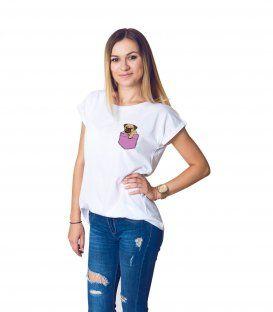 Tričko Lucy PocketPug