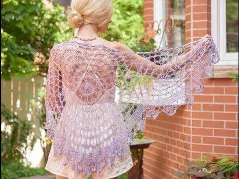 Sjaal cirkel lace