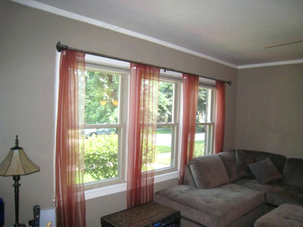 Curtains For Two Windows Close Together Medium Size Of Panel Window Curtain Ideas Bay Window Living Room Windows Large Windows Living Room Wide Window Curtains