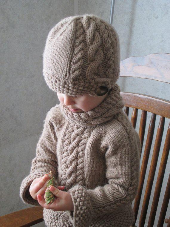 KNITTING PATTERN PDF sweater // knit pattern sweater for baby ...