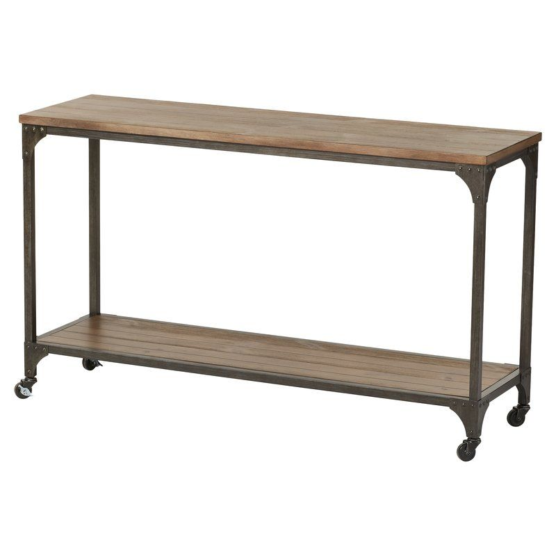 Ioanna Console Table Metal Console Table Wood Console Table
